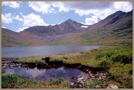 Chalk Creek Pass -                           Sawatch Range - Colorado