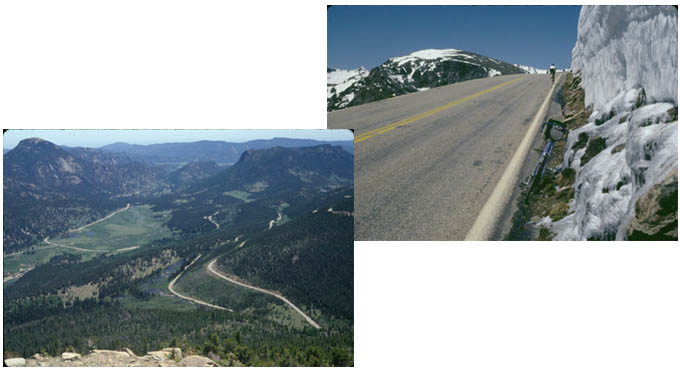 Trail Ridge Road by bicycle