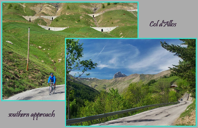Col d'Allos southern                                       approach