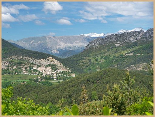 Saint Antonin - Maritime Alps - France