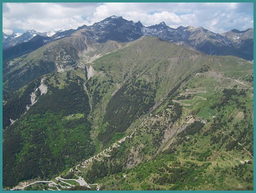 Col                                       de Tende from Via del Sale