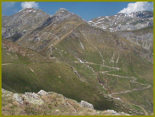 Col de                                     la Perle from Via del Sale